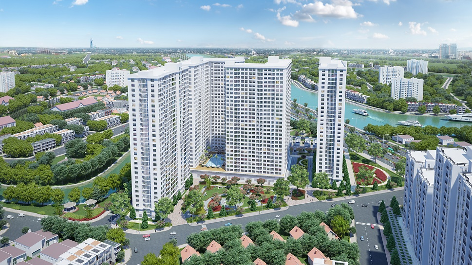 can ho diamond riverside quan 8 - tổng quan
