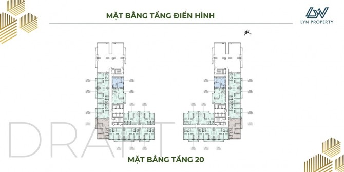 Mặt Bằng Tầng 20 Can Ho Anderson Park